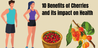 10 Benefits of Cherries and its impact on Health