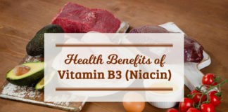 Vitamin B3 benefits for health